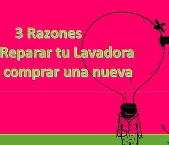 Sevilla Reparacion lavadoras 3 razones